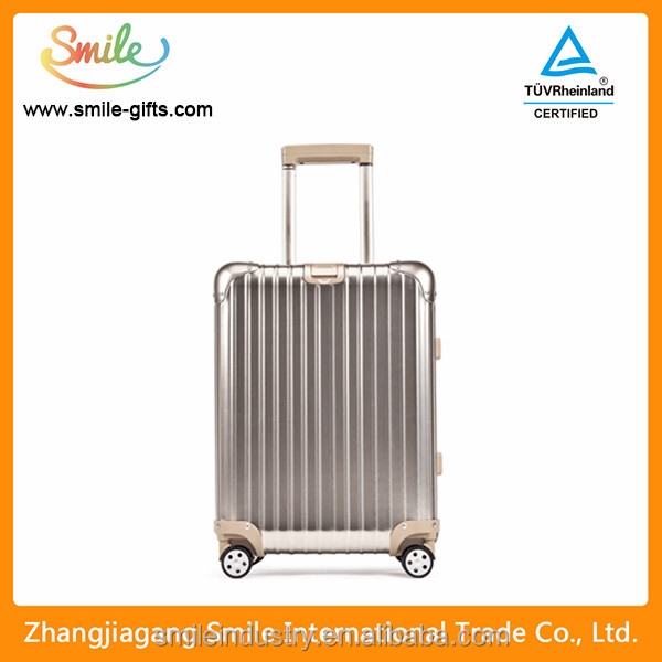 New Product Aluminum Trolley Suitcase And Luggage