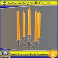 Christmas taper candle Brand name candle