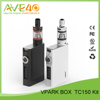 New products 2016 e-cigarette vaporizers vpark150w box mod rex dry herb vaporizer ,100% original vpark V Box TC150 Kit