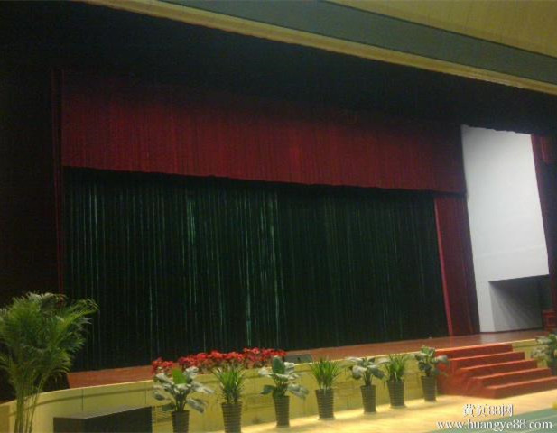 portable elegant custom made motorized stage curtains drapes