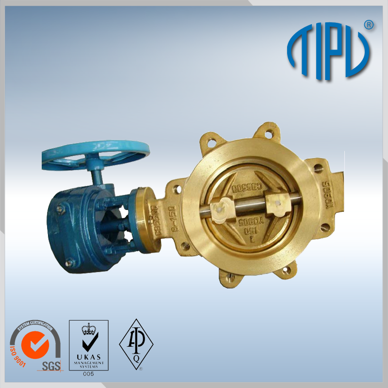dn250 wcb butterfly valve for industrial use