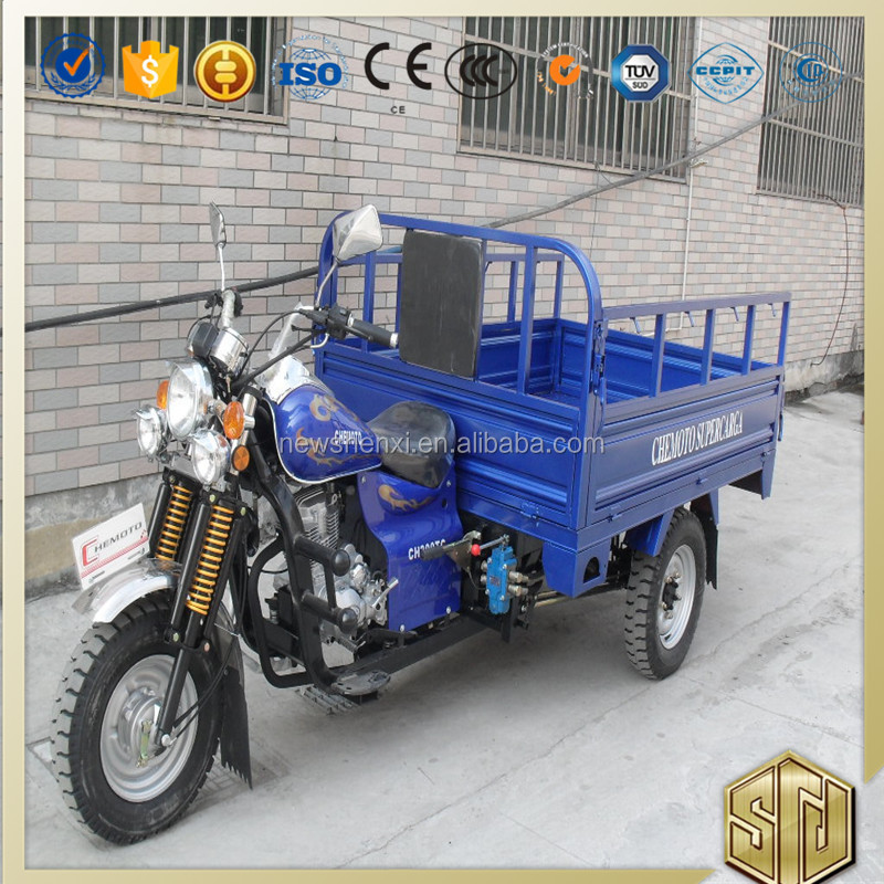 Hot Sale Hydraulic Cargo Tricycle With Stronger Frame Optional Color For Sale