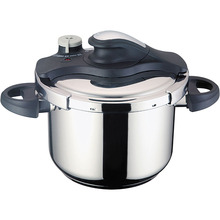 6L stainless steel pressure cooker with pot
