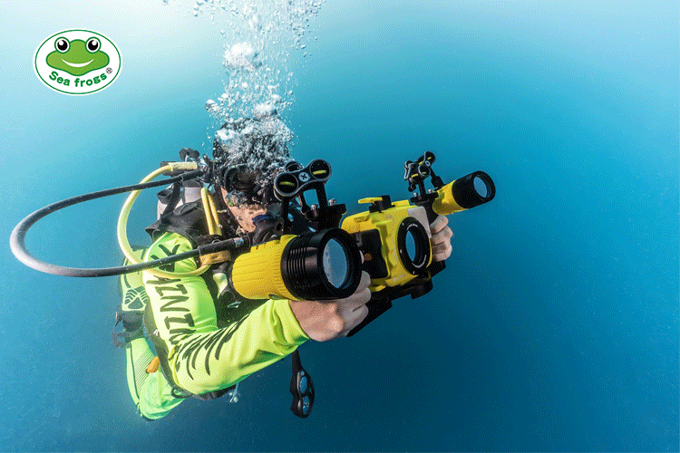Meikon IPX8 60M waterproof digital camera case for TG-5 diving photography housing