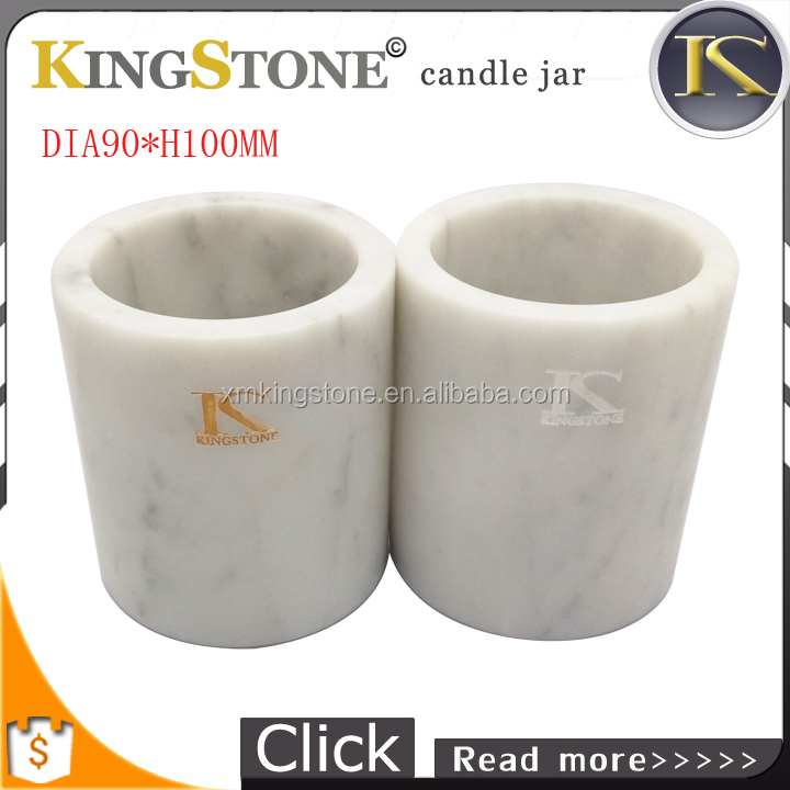 Kingstone candle holder of Folk Style,Wax stone candle jar of 250ml