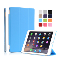 Factory Price Smart Leather Flip Cover Case for iPad Air 2