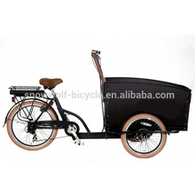 electric cargo bike 3 wheel cargo bicycle with lithium battery high quality electric bike in ChinaSW-EOB-C05