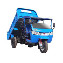 Quality-Assured cargo tricycle with cabin/garbage truck