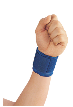 Adjustable Sport Wristband Weight Lifting Wrist Wraps Bandage Support Sports Wrist Band With OEM Service