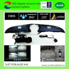 Factory supply directly 360 degree HD security top view camera system with recording and moving trajectory for cars