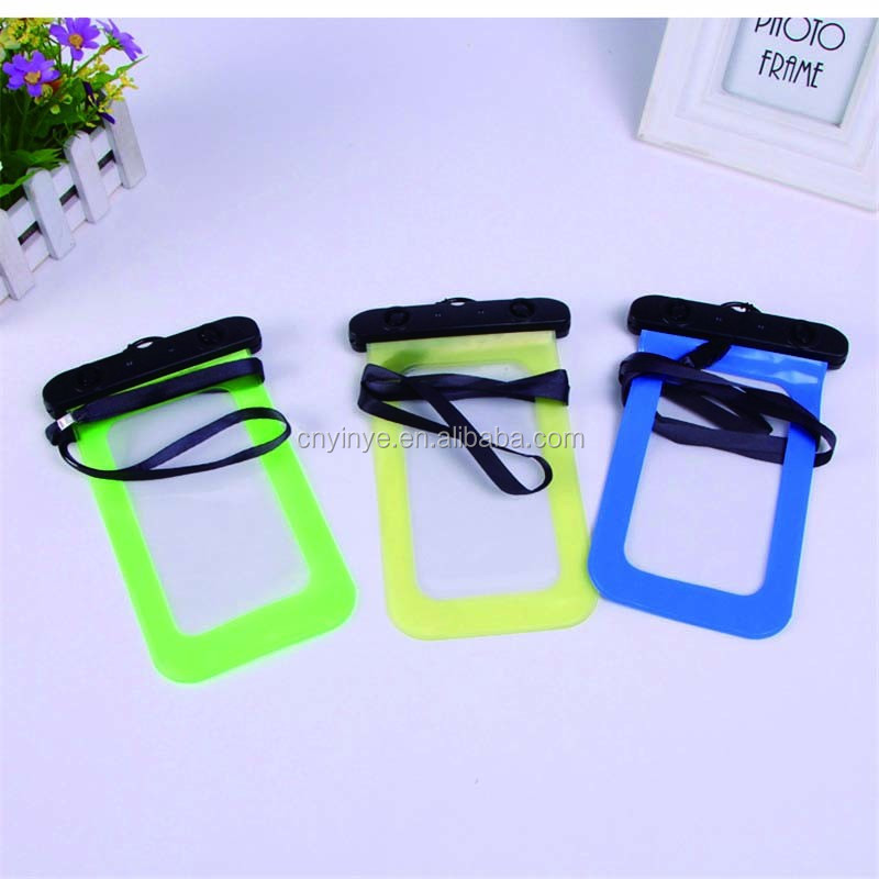 cheap price mobile phone waterproof bag pvc