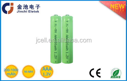 2017 NIMH 1.2v AAA 900mah rechargeable battery energized