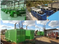 small biogas generator 30KW for sale/ waste to energy power plant