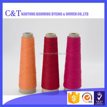Factory price cotton dyed ring multi color yarn sale for knitting