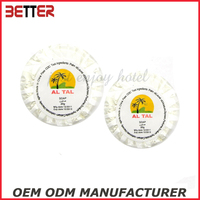 round disposable 20g hotel soap