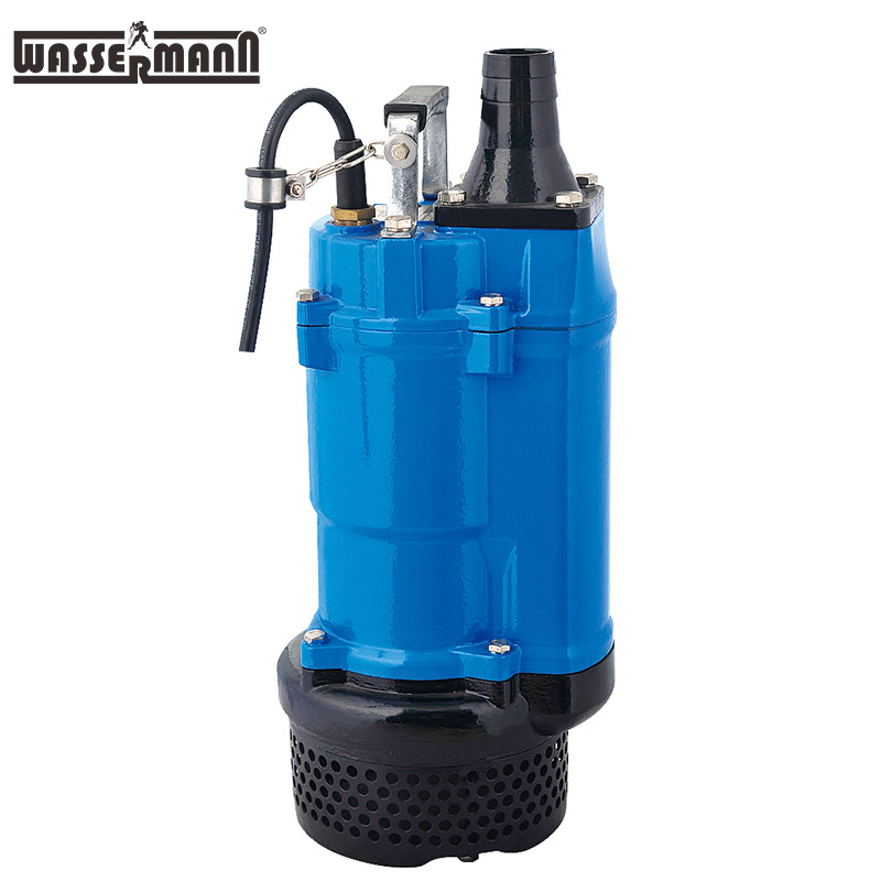 WASSERMANN KBZ High Chrome Iron Semi-open Impeller Continuous Duty Submersible Sewage Water Pumps