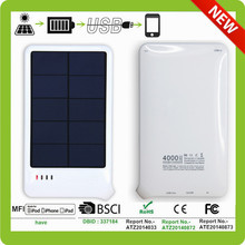 4000mAh Portable Super Solar Power Charger Dual USB External Battery Power Bank