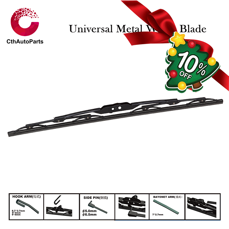 Auto Parts Universal Metal Wiper Blade, factory FT-508