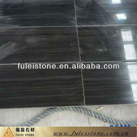 Factory For Sale Black Wood Grainy Marble Tile
