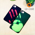Soft Thermal Induction Discoloration Mobile Phone Case For Iphone 7 Plus Creative Back Cover