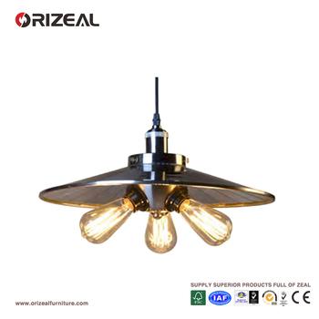 Regent 3-bulb 3 Light Unique Plate Pendant Lighting Oz-al651