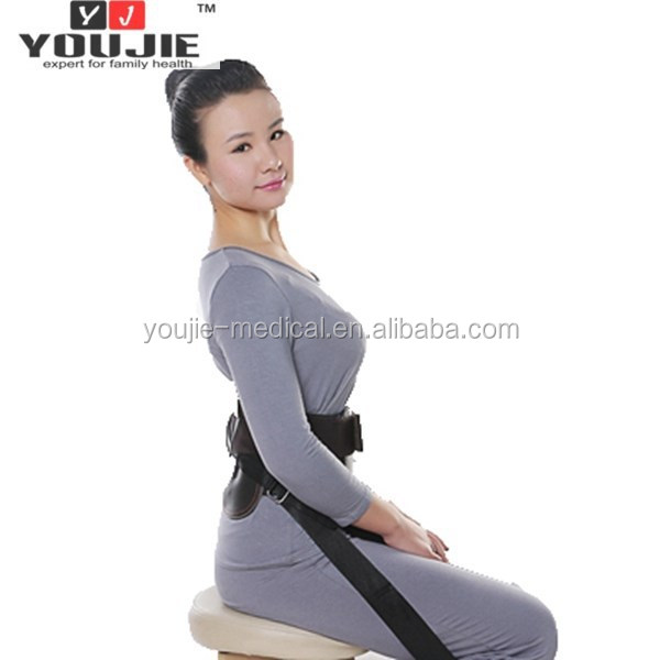 elastic slimming waist support for office worker