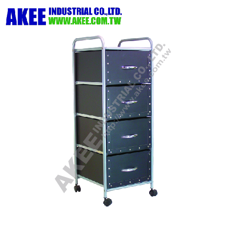 4 wheel 4 Tiers Paper filing Drawer/file keeper Storage Cart