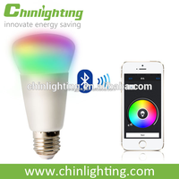 Remote control bluetooth led smart lamp with ul ce rohs certification in 2016 China OEM factory