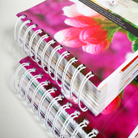 Special Customized Wholesale Factory Price Print Spiral Bind Book Printing Supplier