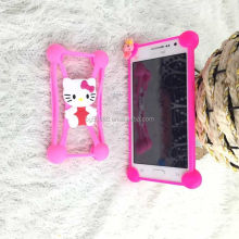 2016 latest beautiful universal silicone mobile phone cover case