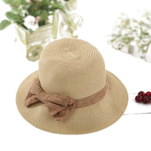 Ladies dress straw hats wholesale bowknow women cloche hat