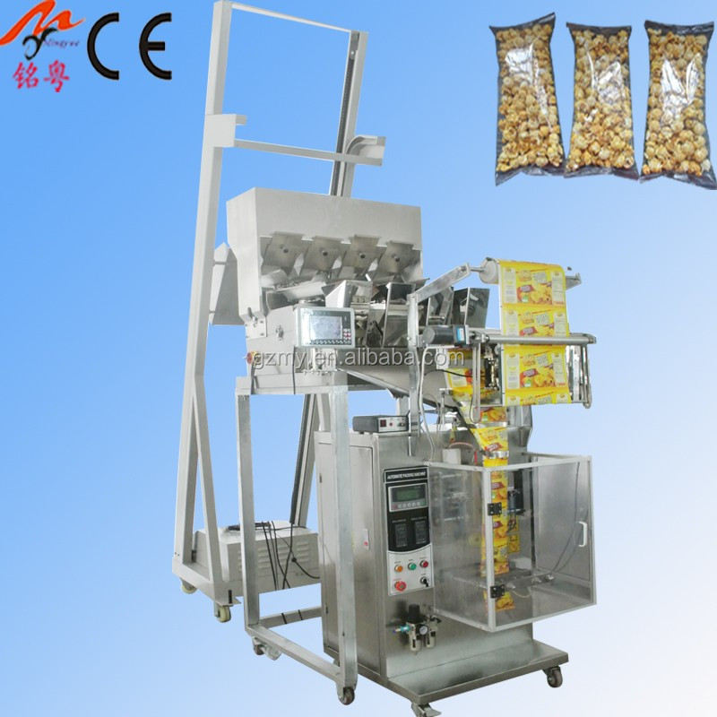 Vertical automatic Hulless Barley Flakes packing machine MY-60KW New