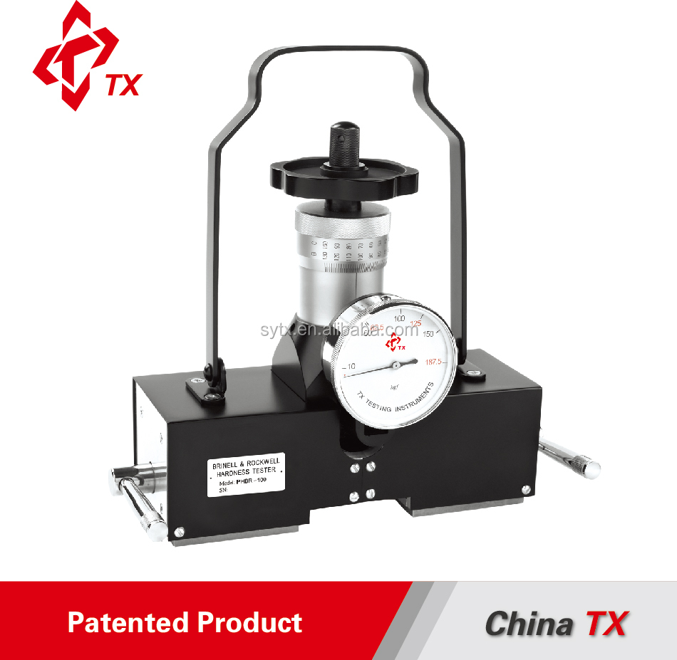 CHINA TX PHBR-100 Portable Magnetic Brinell and Rockwell Manual Hardness Tester