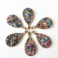 Wholesale Good Price Colour Stone Pendant