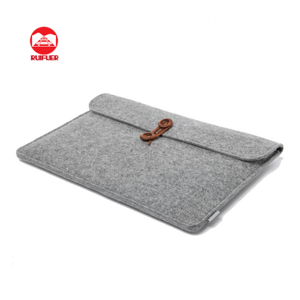 Manufacturer Wholesale Premium Universal Handmade Travel Pouch Bag Wool Felt Tablet Sleeve For iPad & 7 8 9 inch Tablet