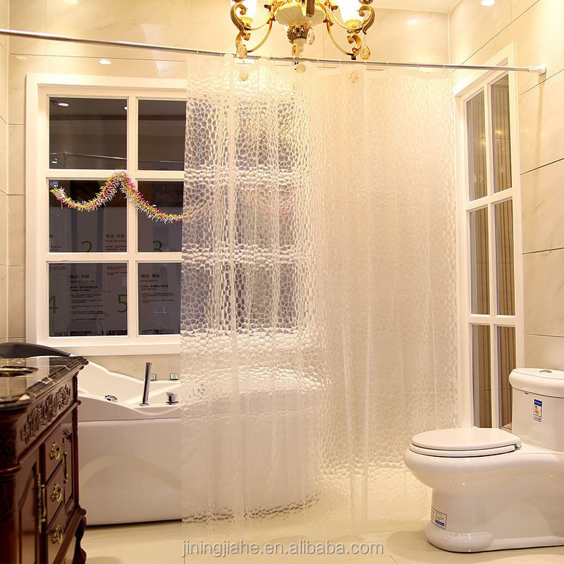 Translucent Home Goods Lace Shower Curtains
