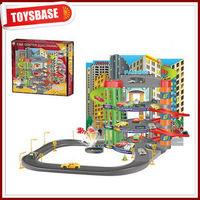 Metal toy train set
