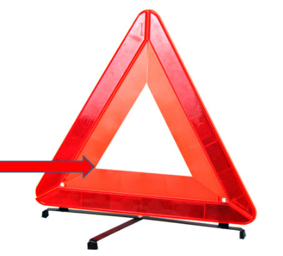 Vechical Warning Triangle Signs Emergency Warning Signs