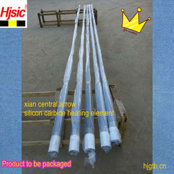 made in china silicon carbide rod heater dumbell type