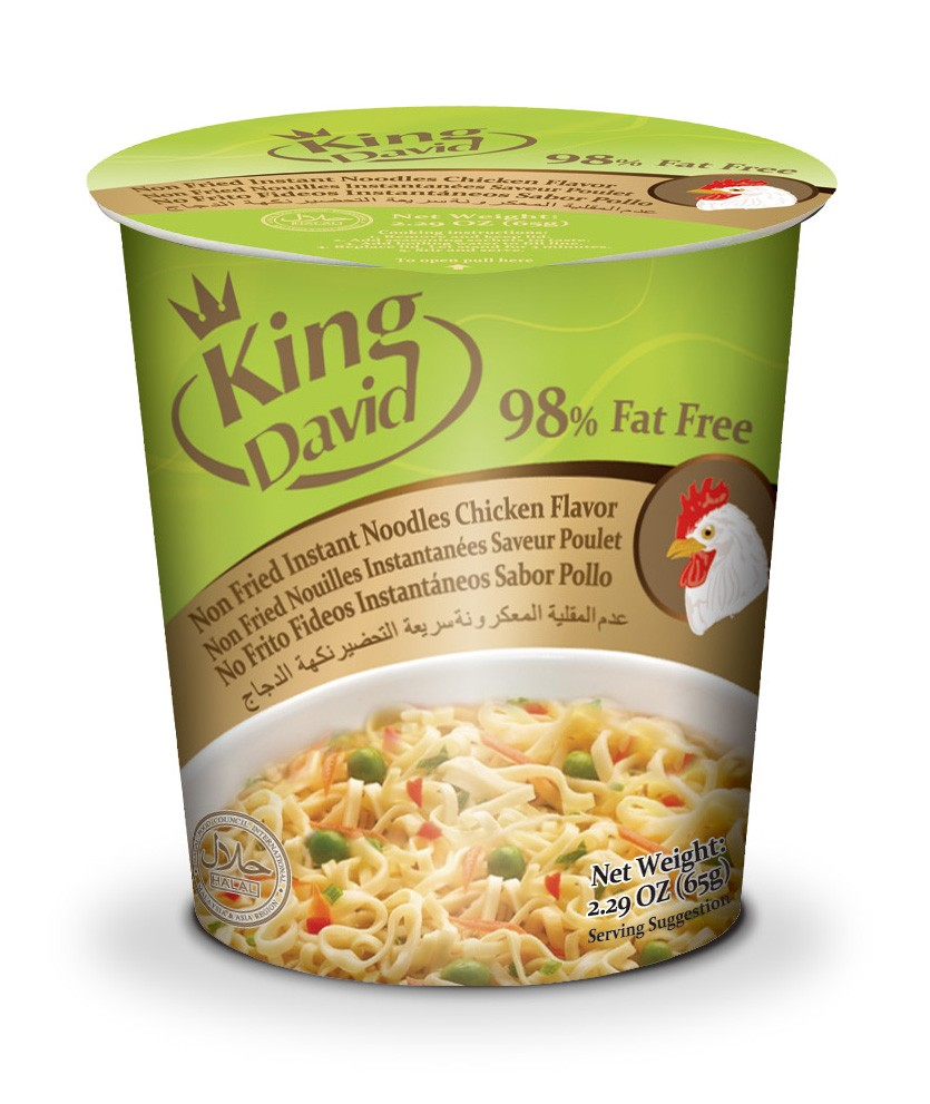 KING DAVID FOOD BRAND 65G 85G CUP/BAG INSTANT RAMEN NOODLES FROM CHINA SUPPLIER
