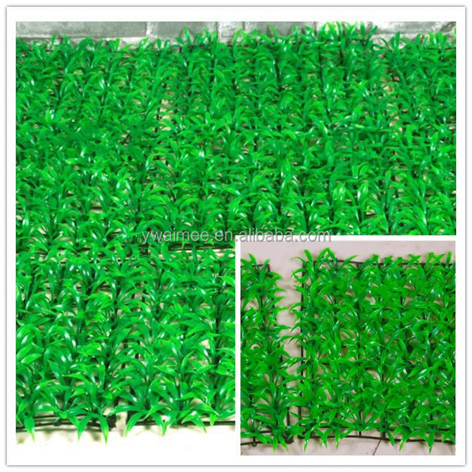 Wholesale artificial soccer green grass, white artificial grass from Yiwu Aimee(AM-B002-1)