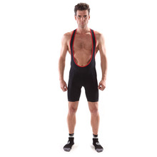 2014 professional cycling bib shorts with lycra fabric good elastic
