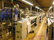 Air jet loom cotton fabric weaving machine