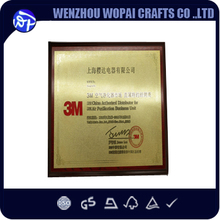 New MDF or solid wood, wood material and Engraving Carving Type Unfinished Wooden Shield Plaque foil logo