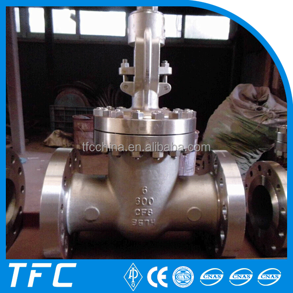 double flange stainless steel gate valve
