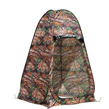 Portable Pop up Tent Camping Beach Toilet Shower Changing Room Camouflage W/bag