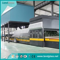 LandGlass Jet Convection Flat/Bending Glass Tempering Machine/Industrial Tempering Furnace Production Line