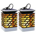 Solar Lights Solar Lanterns with hanging Dancing Flame Lanterns Decoration Lights Umbrella Lanterns YH0812