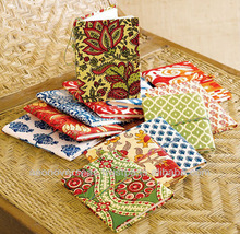 Indian traditional Fabric Cover Pocket Notebook