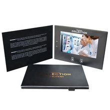 New Design LED Video Greeting <strong>Card</strong> 7Inch LCD Screen